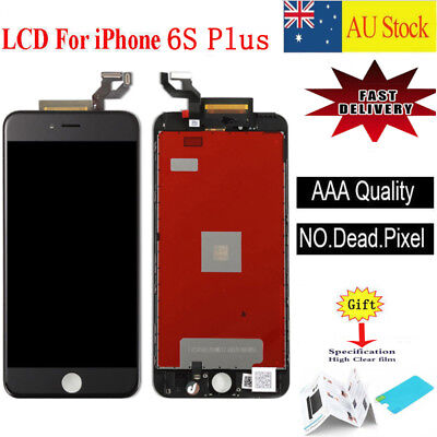 For iPhone 6S Plus LCD Touch Screen Replacement Digitizer Display Assembly Black