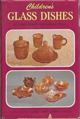 A Collector's Guide to Children's Glass Dishes  (NoDust)