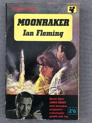 Moonraker, James Bond, Ian Fleming's Great Pan UK Paperback 1961
