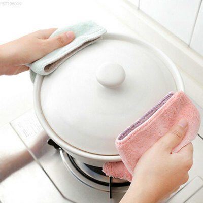 3299 Housewife Hotel Rag Soft Polyester 27.5*16cm Tableware Kitchen Cleaner