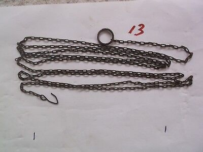A Steel Chain From An Old Cuckoo Clock 62 Lincs To The Ft Ref 13