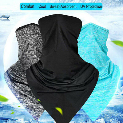 Motorcycle Cycling Summer Half Face Mask Scarf Sun UV Protection Neck Cover 1PC