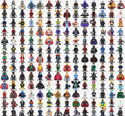 2018-2019 250pcs Marvel Dc Superheroes Minifigures fits lego building toys