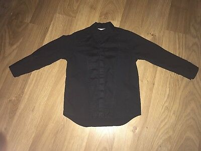 NEXT  Boys Black Smart Long Sleeved Shirt 1.5-2years USED