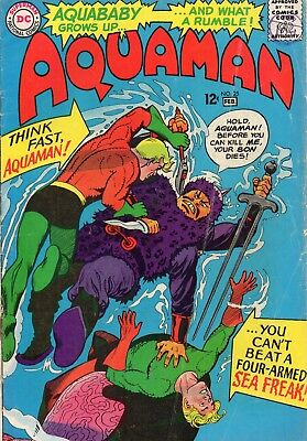 AQUAMAN - issue 25 - VF- to VF ( 7.5 TO 8.0 )