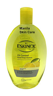Eskinol Oil Control Facial Deep Cleanser with Pure Lemon Extract 225ml
