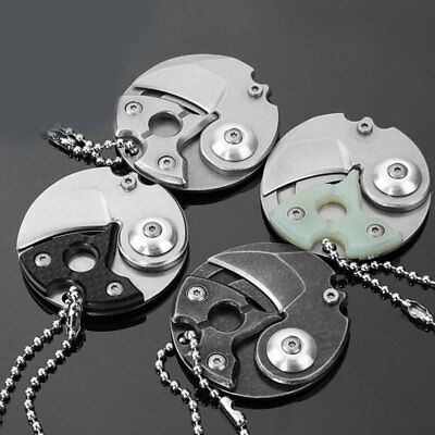 9251 Coin EDC Portable Keyring Keychain Necklace Karambit Stainless Steel Claw K