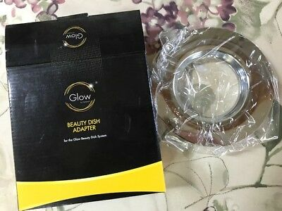 Glow Beauty Dish Adapter Ring for Photogenic Mount GLBSPRG