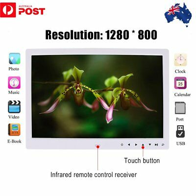 17 Inches Screen HD LED Digital Photo Frame 1440*900 Electronic Picture Album ES