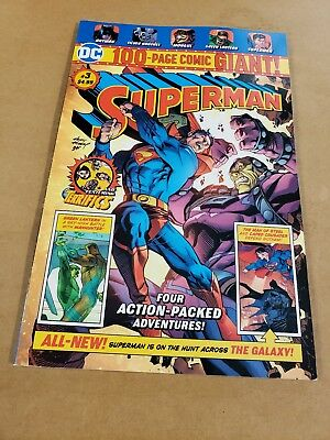 DC Comics Superman #3 WALMART EXCLUSIVE 100 Page GIANT! SOLD OUT!