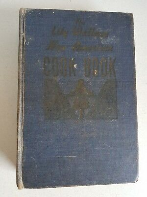 Vintage Cookbook Recipe Book Lily Wallace New American 1946