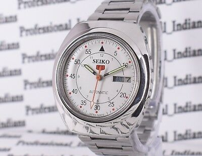 Vintage Seiko 5 Automatic 17 Jewel Cal.7009A Day Date Men's Wrist Watch