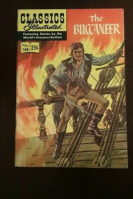 Classic Illustrated #148 High Grade Issue- The Buccaneer HRN 169