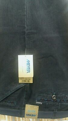 """MEYER CHICAGO HEAVY COTTON  TROUSERS in WINE 42/""""44/""""46/""""48/""""50/""""52/"""""""