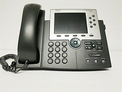 Cisco CP-7965G 7900 Series Unified IP Phone VoIP Telephone PH446
