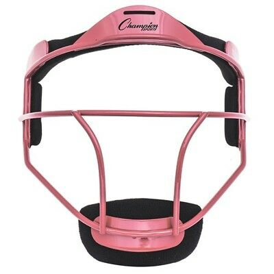 Champion Sports Softball Adulti Borraccia/Fielder Maschera, Wide Vision, Rosa