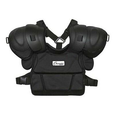 """New Champion P170 Pro Style Low Rebound Chest Baseball Umpire Protector 16"""" Long"""