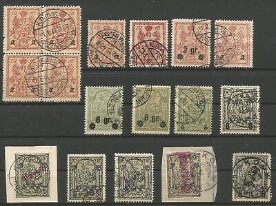 Poland,Locals,Warsaw issue,Lot 1,used