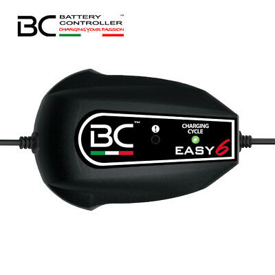 Caricabatterie BC battery Easy6 mantenitore piombo acido carica batteria