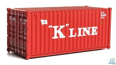 K-Line 20' Corrugated Container HO - Walthers SceneMaster #949-8073 vmf121