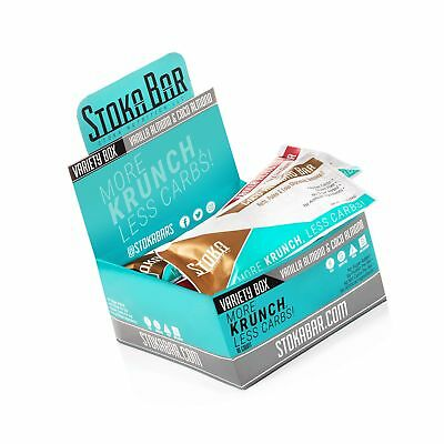 New! Stoka Bars - Keto, Paleo, Low Carb/Glycemic (VANILLA ALMOND & COCO ALMOND