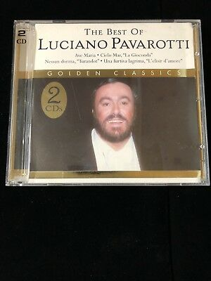Best of Luciano Pavarotti [Madacy] (CD, Jan-2004, 2 Discs, Madacy Distribution)