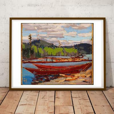 Tom Thomson Canadian Post Impressionist Group Seven 04 28x22 INCHES