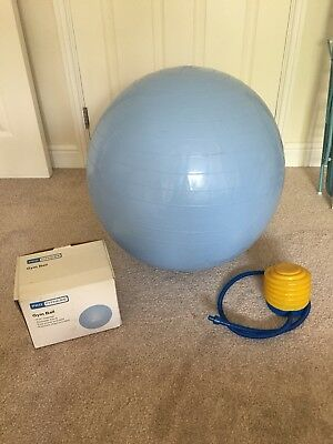 PRO FITNESS 65cm Blue Gym ball / Maternity Ball / Excersise Ball