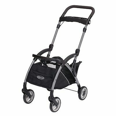 Graco Snugrider Elite Stroller and Car Seat Carrier, Black, 16 pounds