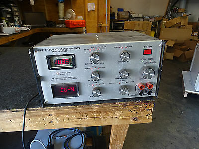 Hoefer  Scientific PS2500 2.5kV 2500DC 300Ma 375W High Voltage DC Power Supply