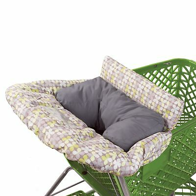 Summer Infant 2-in-1 Cushy Cart Cover and Seat Positioner Green
