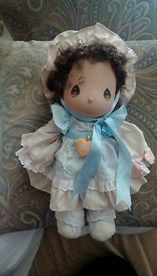 """Vintage 1985 Precious Moments Doll Applause With Tags 14"""" Free Ship."""