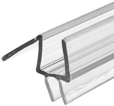 Prime-Line M 6258 Frameless Shower Door Bottom Seal – Stop Shower Leaks and C...