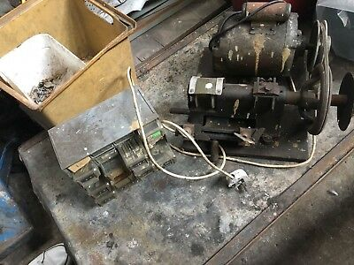 Used Key Cutting Machine, With Various Key Blanks.