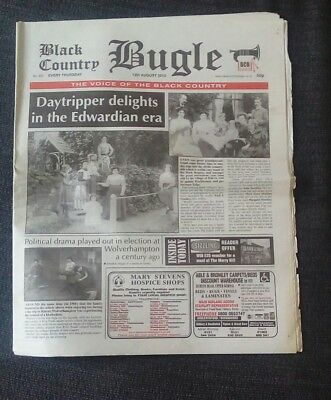 Black Country Bugle NEWSPAPER. Aug 12 2010 Daytrippers Delight Edwardian Era.