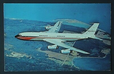 El Dorado Super Jet Braniff International Airways Boeing 707-227 VTG Postcard