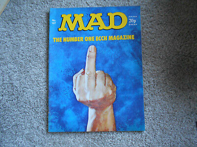 MAD magazine  no 147 UK edition VG+