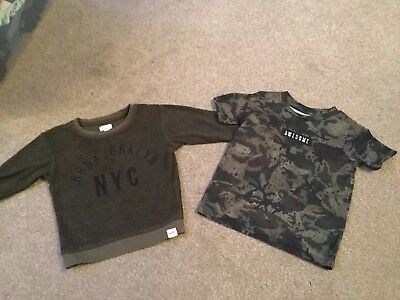 Baby Boy River Island Jumper And T Shirt Size 9 12 Months 2 60