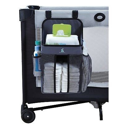 hiccapop Playard Nursery Organizer and Diapers Organizer | Baby Diaper Caddy ...
