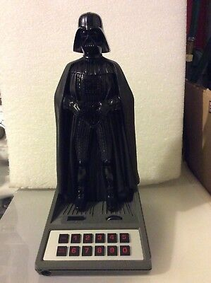 Vintage 1983 Star Wars Darth Vader Speakerphone Telephone Phone Tested