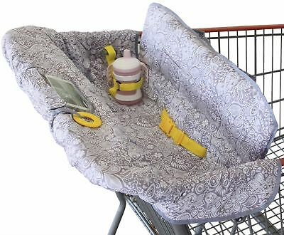 Shopping Cart Cover for Baby or Toddler   2-in-1 High Chair Cover   Compact U...