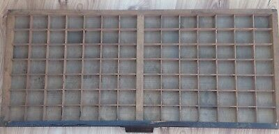 Vintage Printers Letterpress Tray No 1 Very Good Original Condition