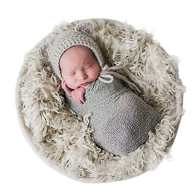 Sunmig Newborn Baby Stretch Wrap Photo Props Wrap-Baby Photography Props (Lig...