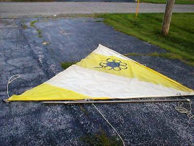 "Original Snark Sunflower Replacement Nylon Sail 113""x113"" Mast Frame AVAILABLE"