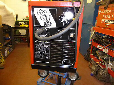 Welder, Mig, Snap-On Promig 160. Vgc