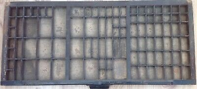 Vintage Printers Letterpress Tray No 3 In Original Condition