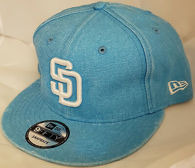 2440d8fd NWT NEW ERA San Diego PADRES SD 9FIFTY SNAPBACK adjustable mlb cap baseball  hat