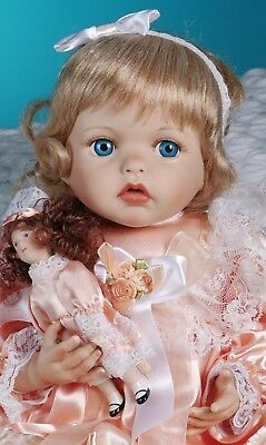 Paradise Galleries blonde baby doll by Kathy Smith Fitzpatrick 19""