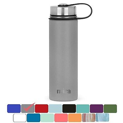 MIRA Stainless Steel Vacuum Insulated Wide Mouth Water Bottle | Thermos Flask...