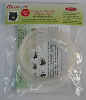 Steam Safe Tubing (A Retail Pack of 2 Tubes) for Medela Pump in Style and New...